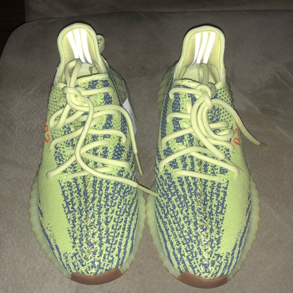 b35bd4a6f Semi frozen yellow yeezy boost v2